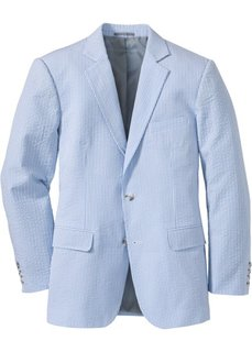Пиджак Regular Fit (нежно-голубой/белый в полоску) Bonprix