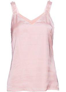 Топ с бусинами (нежно-розовый) Bonprix