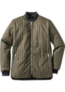 Куртка стеганая Regular Fit (темно-оливковый) Bonprix