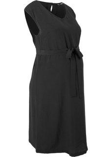 Платье для беременных (черный) Bonprix