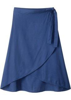 Юбка с запахом (полуночная синь) Bonprix