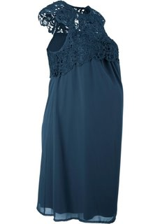 Платье праздничное для беременных (темно-синий) Bonprix