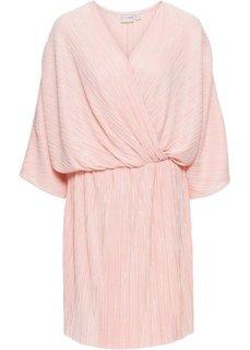 Платье плиссированное (нежно-розовый) Bonprix