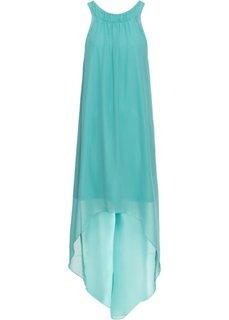 Платье из шифона (зеленый океан) Bonprix