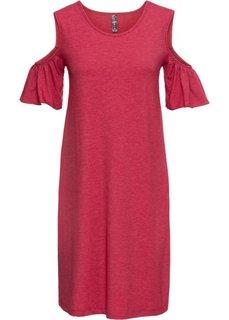 Платье с вырезами (темно-красный) Bonprix