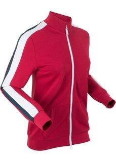 Куртка с длинным рукавом (темно-красный) Bonprix