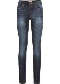 Эластичные джинсы скинни, cредний рост (N) (темно-синий) Bonprix