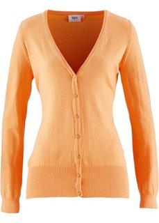 Стеганая куртка для активного отдыха (серый меланж) Bonprix
