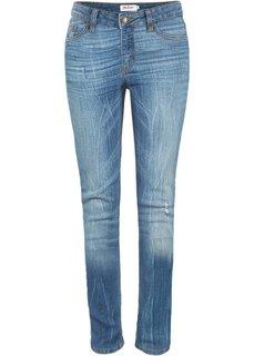 Джинсы-карго Regular Fit Straight, cредний рост (N) (темно-синий) Bonprix