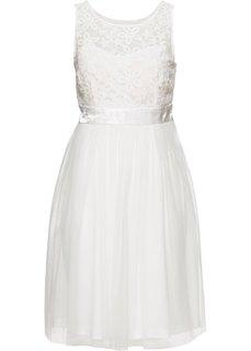 Вечернее платье (белый) Bonprix