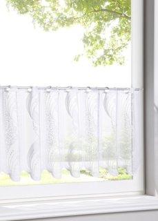 Короткая штора Фемке, прорезные петли (белый) Bonprix