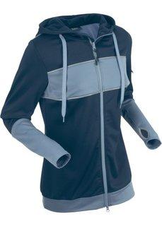 Куртка с длинным рукавом (темно-синий) Bonprix