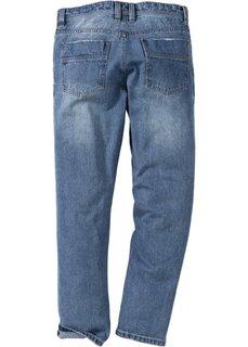 Джинсы Regular Fit Straight, длина (в дюймах) 34 (голубой) Bonprix