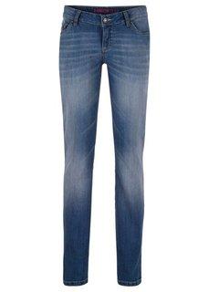 джинсы, низкий рост (K) (синий «потертый») Bonprix