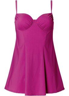 Купальник-платье, чашка D (цвет фуксии) Bonprix