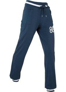 Спортивные брюки стретч (темно-синий) Bonprix