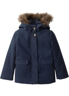 Куртка на ватной подкладке (темно-синий меланж) Bonprix