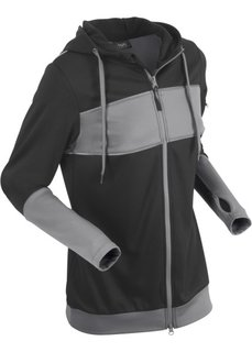 Куртка с длинным рукавом (черный) Bonprix