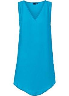 Удлиненная блузка (бирюзовый) Bonprix