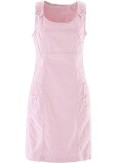 Вельветовый сарафан-стретч (жемчужно-розовый) Bonprix