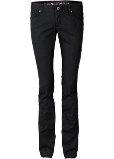 джинсы, низкий рост (K) (черный) Bonprix
