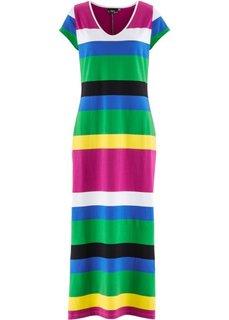 Трикотажное платье (в полоску) Bonprix