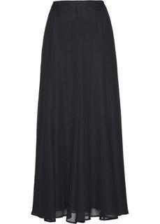 Шифоновая юбка (черный) Bonprix