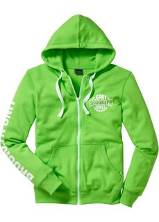 Трикотажная куртка (светло-зеленый) Bonprix