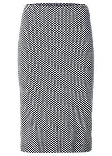 Юбка (черный/белый в горошек) Bonprix