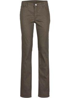 Твиловые брюки (оливковый) Bonprix