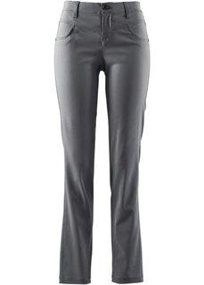 Прямые брюки стретч (антрацитовый) Bonprix