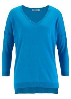 Пуловер (капри-синий) Bonprix