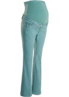 Мода для беременных:  брюки BOOTCUT, cредний рост (N) (минерально-синий) Bonprix
