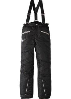 Лыжные брюки (черный) Bonprix