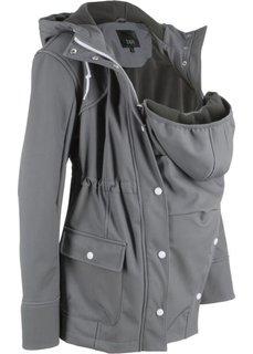 Куртка со вставкой для малыша (серый) Bonprix
