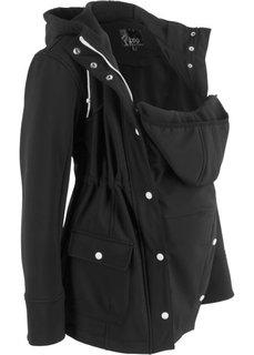 Куртка со вставкой для малыша (черный) Bonprix