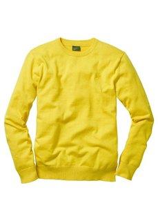 Пуловер (желтый) Bonprix