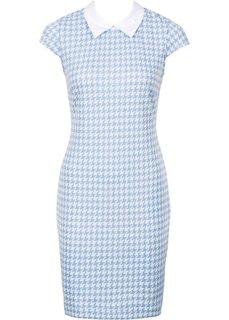 Платье (нежно-голубой/белый) Bonprix