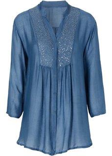 Блуза (синий) Bonprix