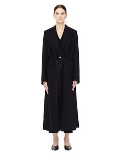 Шерстяное пальто с поясом Ann Demeulemeester