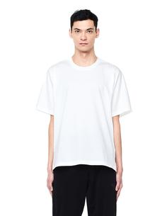Белая футболка с логотипами Y-3