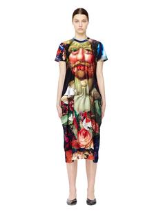 Платье с принтом Джузеппе Арчимбольдо Comme DES GarÇons