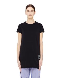 Удлиненная хлопковая футболка Drkshdw BY Rick Owens