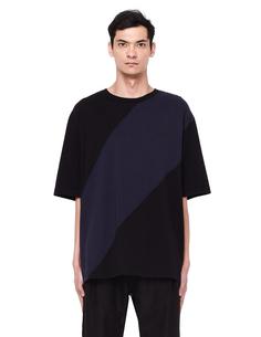 Хлопковая футболка Yang LI