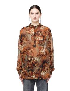 Шелковая рубашка Georgette Floral Enfants Riches Deprimes