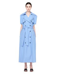 Голубое платье-тренч Maison Margiela