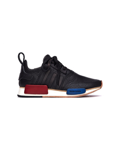 Черные кожаные кроссовки Adidas NMD_R1 Hender Scheme