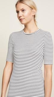 Three Dots Hyannis Stripe Easy Dress