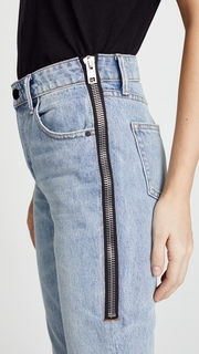 Denim x Alexander Wang Cult Side Zip Jeans