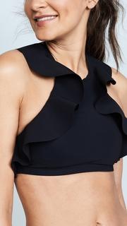 Karla Colletto Zaha Halter Bikini Top